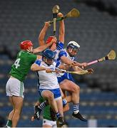 13 December 2020; Jack Prendergast of Waterford gathers possession during the GAA Hurling All-Ireland Senior Championship Final match between Limerick and Waterford at Croke Park in Dublin. Photo by Piaras Ó Mídheach/Sportsfile