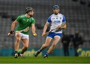13 December 2020; Darragh O'Donovan of Limerick in action against Austin Gleeson of Waterford during the GAA Hurling All-Ireland Senior Championship Final match between Limerick and Waterford at Croke Park in Dublin. Photo by Piaras Ó Mídheach/Sportsfile