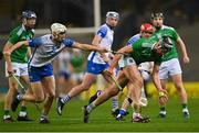 13 December 2020; Gearóid Hegarty of Limerick in action against Jack Fagan of Waterford during the GAA Hurling All-Ireland Senior Championship Final match between Limerick and Waterford at Croke Park in Dublin. Photo by Piaras Ó Mídheach/Sportsfile