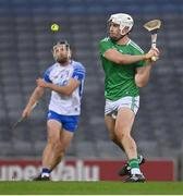 13 December 2020; Aaron Gillane of Limerick during the GAA Hurling All-Ireland Senior Championship Final match between Limerick and Waterford at Croke Park in Dublin. Photo by Brendan Moran/Sportsfile