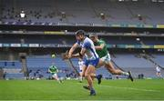 13 December 2020; Kevin Moran of Waterford is tackled by Gearóid Hegarty of Limerick during the GAA Hurling All-Ireland Senior Championship Final match between Limerick and Waterford at Croke Park in Dublin. Photo by Brendan Moran/Sportsfile