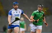 13 December 2020; Austin Gleeson of Waterford in action against Darragh O'Donovan of Limerick during the GAA Hurling All-Ireland Senior Championship Final match between Limerick and Waterford at Croke Park in Dublin. Photo by Ramsey Cardy/Sportsfile