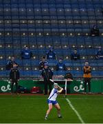 13 December 2020; Waterford subs and backroom staff look on as Stephen Bennett takes a free during the GAA Hurling All-Ireland Senior Championship Final match between Limerick and Waterford at Croke Park in Dublin. Photo by David Fitzgerald/Sportsfile