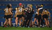 12 December 2020; Kilkenny players celebrate after the Liberty Insurance All-Ireland Senior Camogie Championship Final match between Galway and Kilkenny at Croke Park in Dublin. Photo by Piaras Ó Mídheach/Sportsfile