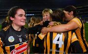 12 December 2020; Kilkenny backroom team member Angela Downey celebrates with Davina Tobin after the Liberty Insurance All-Ireland Senior Camogie Championship Final match between Galway and Kilkenny at Croke Park in Dublin. Photo by Piaras Ó Mídheach/Sportsfile