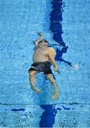 17 December 2020; Shane Ryan of National Centre Dublin competing in the 50m backstroke event during day 1 of the Irish Winter Meet at Sport Ireland National Aquatic Centre in the Sport Ireland Campus, Dublin. Photo by Eóin Noonan/Sportsfile