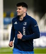 18 December 2020; Harry Byrne during the Leinster Rugby Captains Run at the RDS Arena in Dublin. Photo by Ramsey Cardy/Sportsfile
