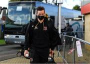 19 December 2020; Billy Burns of Ulster arrives prior to the Heineken Champions Cup Pool B Round 2 match between Gloucester and Ulster at Kingsholm Stadium in Gloucester, England. Photo by Harry Murphy/Sportsfile