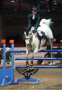 18 December 2020; Jason Foley competing on Castlefield Vegas during the Horse Sport Ireland Show Jumping Masters at Emerald International Equestrian Centre in Enfield, Kildare. Photo by Stephen McCarthy/Sportsfile