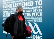 19 December 2020; Mayo manager James Horan arrives ahead of the GAA Football All-Ireland Senior Championship Final match between Dublin and Mayo at Croke Park in Dublin. Photo by Stephen McCarthy/Sportsfile