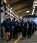 19 December 2020; Eric Lowndes and Dublin team-mates arrive prior to the GAA Football All-Ireland Senior Championship Final match between Dublin and Mayo at Croke Park in Dublin. Photo by Stephen McCarthy/Sportsfile