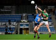 19 December 2020; Stephen Coen of Mayo in action against Seán Bugler of Dublin during the GAA Football All-Ireland Senior Championship Final match between Dublin and Mayo at Croke Park in Dublin. Photo by Seb Daly/Sportsfile