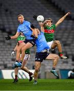 19 December 2020; Paul Mannion, left, and Con O'Callaghan of Dublin in action against Oisín Mullin of Mayo during the GAA Football All-Ireland Senior Championship Final match between Dublin and Mayo at Croke Park in Dublin. Photo by Seb Daly/Sportsfile