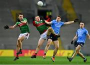 19 December 2020; Ryan O'Donoghue of Mayo in action against John Small of Dublin during the GAA Football All-Ireland Senior Championship Final match between Dublin and Mayo at Croke Park in Dublin. Photo by Eóin Noonan/Sportsfile