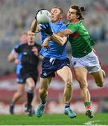19 December 2020; Con O'Callaghan of Dublin in action against Oisín Mullin of Mayo during the GAA Football All-Ireland Senior Championship Final match between Dublin and Mayo at Croke Park in Dublin. Photo by Eóin Noonan/Sportsfile