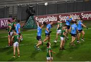 19 December 2020; Dublin players, including Ciarán Kilkenny, celebrate at the final whistle of the GAA Football All-Ireland Senior Championship Final match between Dublin and Mayo at Croke Park in Dublin. Photo by Brendan Moran/Sportsfile