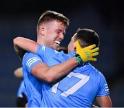19 December 2020; Robert McDaid, left, and Colm Basquel of Dublin celebrate following the GAA Football All-Ireland Senior Championship Final match between Dublin and Mayo at Croke Park in Dublin. Photo by Sam Barnes/Sportsfile