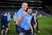 19 December 2020; Brian Fenton and Eric Lowndes of Dublin celebrate after the GAA Football All-Ireland Senior Championship Final match between Dublin and Mayo at Croke Park in Dublin. Photo by Ray McManus/Sportsfile
