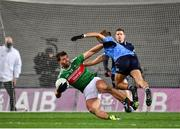 19 December 2020; Aidan O'Shea of Mayo is tackled by Jonny Cooper of Dublin during the GAA Football All-Ireland Senior Championship Final match between Dublin and Mayo at Croke Park in Dublin. Photo by Seb Daly/Sportsfile