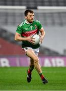 19 December 2020; Chris Barrett of Mayo during the GAA Football All-Ireland Senior Championship Final match between Dublin and Mayo at Croke Park in Dublin. Photo by Seb Daly/Sportsfile