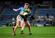 19 December 2020; Conor Loftus of Mayo in action against Seán Bugler of Dublin during the GAA Football All-Ireland Senior Championship Final match between Dublin and Mayo at Croke Park in Dublin. Photo by Seb Daly/Sportsfile