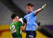 19 December 2020; Robert McDaid of Dublin and Diarmuid O'Connor of Mayo tussle for the ball during the GAA Football All-Ireland Senior Championship Final match between Dublin and Mayo at Croke Park in Dublin. Photo by Seb Daly/Sportsfile