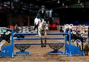18 December 2020; Jason Foley competing on Castlefield Vegas during the Horse Sport Ireland Show Jumping Masters at Emerald International Equestrian Centre in Enfield, Kildare. Photo by Ramsey Cardy/Sportsfile
