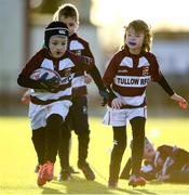 20 December 2020; Dylan Cullen in action during the Tullow RFC Minis Training at Tullow RFC in Tullow, Carlow. Photo by Matt Browne/Sportsfile
