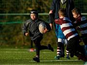 20 December 2020; Dan Dalton in action during the Tullow RFC Minis Training at Tullow RFC in Tullow, Carlow. Photo by Matt Browne/Sportsfile