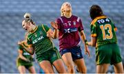 20 December 2020; Vikki Wall of Meath celebrates after scoring her side's second goal during the TG4 All-Ireland Intermediate Ladies Football Championship Final match between Meath and Westmeath at Croke Park in Dublin. Photo by Brendan Moran/Sportsfile