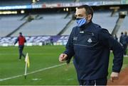 20 December 2020; Dublin selector Paul Casey runs out onto the pitch prior to the TG4 All-Ireland Senior Ladies Football Championship Final match between Cork and Dublin at Croke Park in Dublin. Photo by Piaras Ó Mídheach/Sportsfile