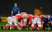18 December 2020; David Hawkshaw of Leinster during the A Interprovincial Friendly match between Munster A and Leinster A at Thomond Park in Limerick. Photo by Brendan Moran/Sportsfile