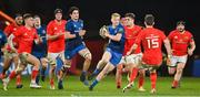 18 December 2020; Jamie Osborne of Leinster during the A Interprovincial Friendly match between Munster A and Leinster A at Thomond Park in Limerick. Photo by Brendan Moran/Sportsfile