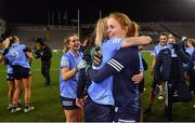 20 December 2020; Dublin players Nicole Owens, left, and Ciara Trant celebrate after the TG4 All-Ireland Senior Ladies Football Championship Final match between Cork and Dublin at Croke Park in Dublin. Photo by Piaras Ó Mídheach/Sportsfile