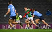 19 December 2020; Ryan O'Donoghue of Mayo in action against Jonny Cooper of Dublin during the GAA Football All-Ireland Senior Championship Final match between Dublin and Mayo at Croke Park in Dublin. Photo by Piaras Ó Mídheach/Sportsfile