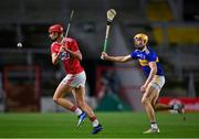 23 December 2020; Brian Hayes of Cork in action against Conor Whelan of Tipperary during the Bord Gáis Energy Munster GAA Hurling U20 Championship Final match between Cork and Tipperary at Páirc Uí Chaoimh in Cork. Photo by Piaras Ó Mídheach/Sportsfile
