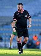 20 December 2020; Referee Seamus Mulvihill during the TG4 All-Ireland Intermediate Ladies Football Championship Final match between Meath and Westmeath at Croke Park in Dublin. Photo by Brendan Moran/Sportsfile