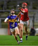 23 December 2020; Brian Hayes of Cork in action against Kevin Maher of Tipperary during the Bord Gáis Energy Munster GAA Hurling U20 Championship Final match between Cork and Tipperary at Páirc Uí Chaoimh in Cork. Photo by Matt Browne/Sportsfile