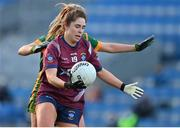 20 December 2020; Sarah Dolan of Westmeath during the TG4 All-Ireland Intermediate Ladies Football Championship Final match between Meath and Westmeath at Croke Park in Dublin. Photo by Brendan Moran/Sportsfile