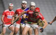 23 December 2020; Ciaran Joyce of Cork in action against Devon Ryan of Tipperary during the Bord Gáis Energy Munster GAA Hurling U20 Championship Final match between Cork and Tipperary at Páirc Uí Chaoimh in Cork. Photo by Matt Browne/Sportsfile