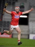 23 December 2020; Cork captain Conor O'Callaghan celebrates after the Bord Gáis Energy Munster GAA Hurling U20 Championship Final match between Cork and Tipperary at Páirc Uí Chaoimh in Cork. Photo by Matt Browne/Sportsfile
