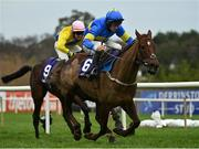 26 December 2020; Dysart Diamond, with David Mullins up, on their way to winning the Holden Plant Rentals Novice Handicap Hurdle on day one of the Leopardstown Christmas Festival at Leopardstown Racecourse in Dublin. Photo by Seb Daly/Sportsfile