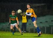 22 December 2020; Sean McMahon of Clare during the Electric Ireland Munster GAA Football Minor Championship Final match between Kerry and Clare at LIT Gaelic Grounds in Limerick. Photo by Eóin Noonan/Sportsfile
