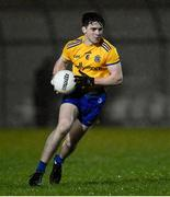 26 December 2020; Alan McManus of Roscommon during the Electric Ireland Connacht GAA Football Minor Championship Final match between Roscommon and Sligo at Connacht Centre of Excellence in Bekan, Mayo. Photo by Ramsey Cardy/Sportsfile