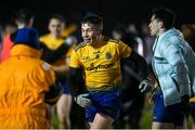 26 December 2020; Oisín Cregg of Roscommon celebrates following the Electric Ireland Connacht GAA Football Minor Championship Final match between Roscommon and Sligo at Connacht Centre of Excellence in Bekan, Mayo. Photo by Ramsey Cardy/Sportsfile
