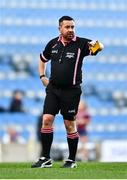 20 December 2020; Referee Seamus Mulvihill during the TG4 All-Ireland Intermediate Ladies Football Championship Final match between Meath and Westmeath at Croke Park in Dublin. Photo by Sam Barnes/Sportsfile