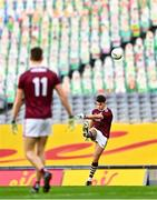 19 December 2020; Tomo Culhane of Galway during the EirGrid GAA Football All-Ireland Under 20 Championship Final match between Dublin and Galway at Croke Park in Dublin. Photo by Eóin Noonan/Sportsfile