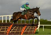 27 December 2020; Appreciate It, with Paul Townend up, jumps the first on their way to winning the Paddy Power Future Champions Novice Hurdle on day two of the Leopardstown Christmas Festival at Leopardstown Racecourse in Dublin. Photo by Seb Daly/Sportsfile
