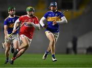 23 December 2020; Brian Roche of Cork in action against Kevin McCarthy, left, and Ray McCormack of Tipperary during the Bord Gáis Energy Munster GAA Hurling U20 Championship Final match between Cork and Tipperary at Páirc Uí Chaoimh in Cork. Photo by Piaras Ó Mídheach/Sportsfile