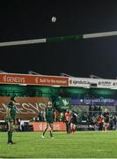 27 December 2020; Ian Madigan of Ulster kicks a penalty during the Guinness PRO14 match between Connacht and Ulster at The Sportsground in Galway. Photo by John Dickson/Sportsfile